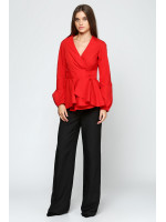 Блуза «Клео» красного цвета
