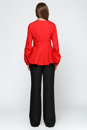 Блуза «Клео» червоного кольору