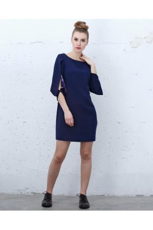 Платье «Векта» цвета индиго