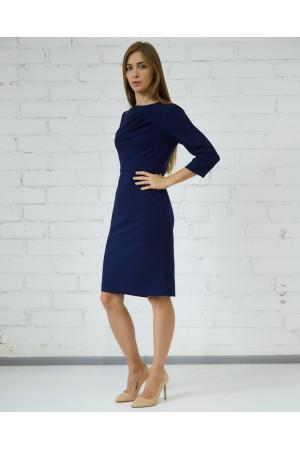 Платье «Волконда» темно-синего цвета