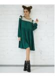 Сукня «Женева» зеленого кольору