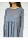 Сукня «Волтана» сірого кольору