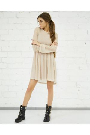 Сукня «Волтана» бежевого кольору