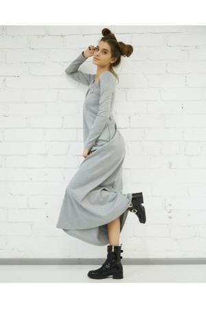 Платье «Аракесса» серого цвета
