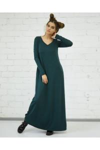 Платье «Аракесса» зеленого цвета
