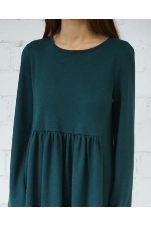 Платье «Маркасон» зеленого цвета