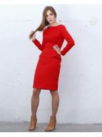 Платье «Бурлеск» красного цвета