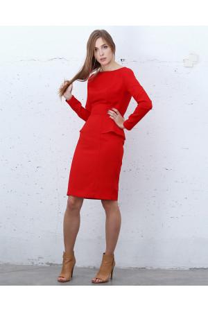 Сукня «Бурлеск» червоного кольору
