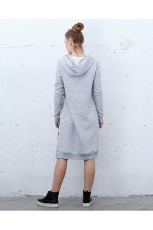 Сукня «Вінд» сірого кольору