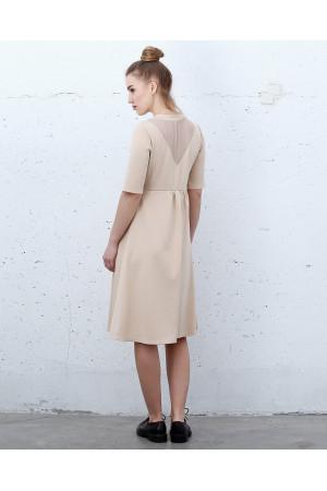 Сукня «Сендж» бежевого кольору
