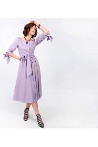 Платье «Холли» сиреневого цвета