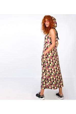 Сукня «Ешлін» з принтом
