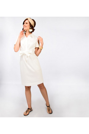 Платье «Софи» белого цвета