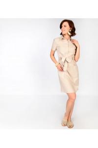 Платье «Софи» бежевого цвета