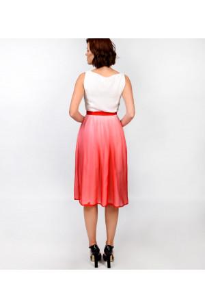 Платье «Линда» красного цвета