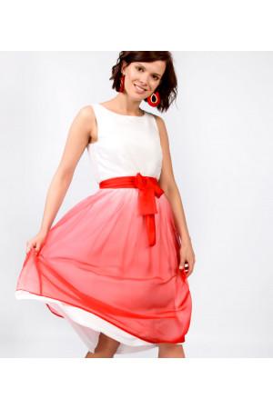 Сукня «Лінда» червоного кольору