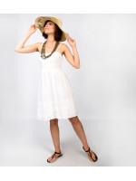 Сарафан «Тутси» белого цвета