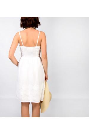Сарафан «Тутсі» білого кольору