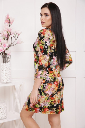 Платье «Дана» с цветочным рисунком