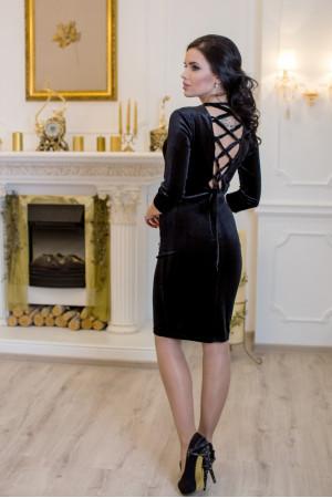 Платье «Амалия» черного цвета
