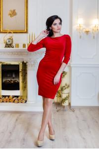 Платье «Амалия» красного цвета
