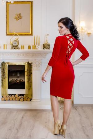 Сукня «Амалія» червоного кольору