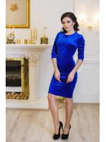 Платье «Амалия» цвета электрик