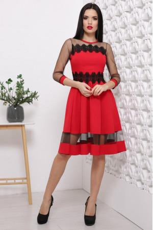 Сукня «Ріо» червоного кольору