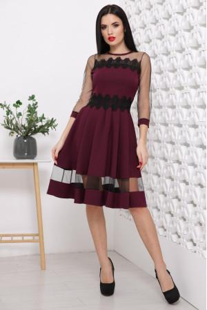 Сукня «Ріо» кольору бордо