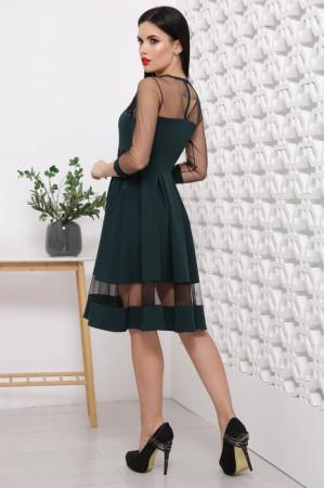Платье «Рио» изумрудного цвета