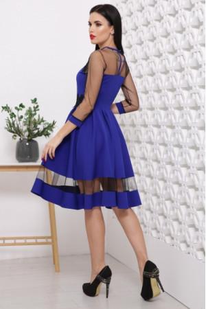 Платье «Рио» цвета электрик