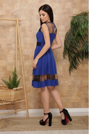 Платье «Рио» цвета электрик, без рукавов