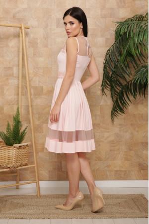 Сукня «Ріо» персикового кольору, без рукавів