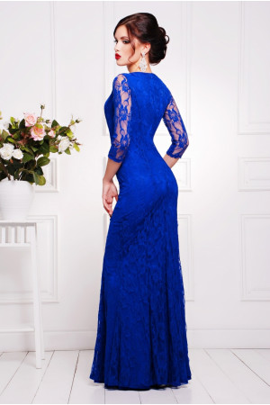 Платье «Арсения» цвета электрик