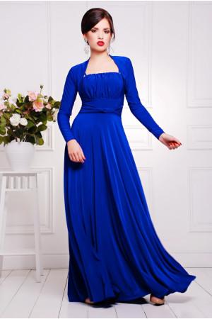 Платье «Анита» цвета электрик
