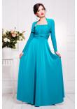 Сукня «Аніта» бірюзового кольору