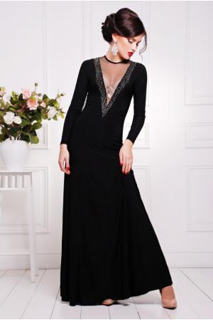 Платье «Аркадия» черного цвета
