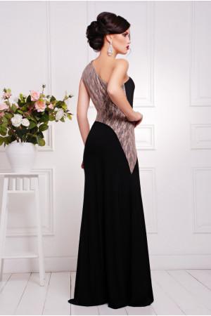 Платье «Юна» черного цвета