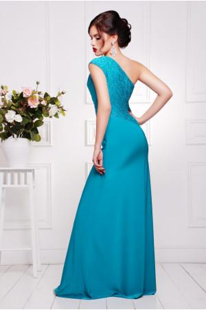 Платье «Юна» бирюзового цвета