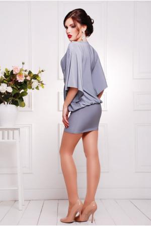 Сукня «Шик» сірого кольору
