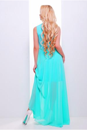 Платье «Глория» мятного цвета