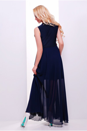 Платье «Глория» темно-синего цвета