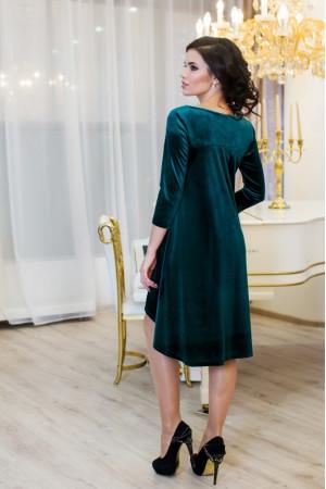 Платье «Скарлетт» зеленого цвета