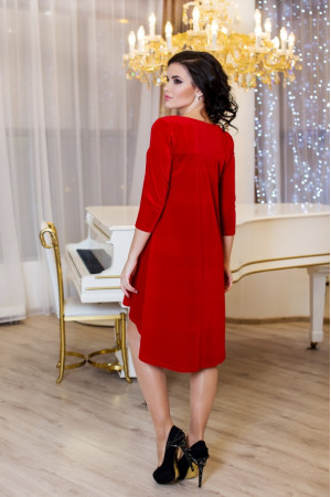 Платье «Скарлетт» красного цвета