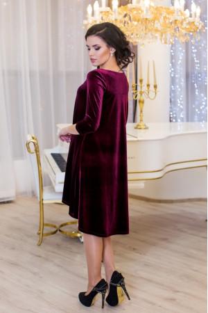 Сукня «Скарлет» бордового кольору