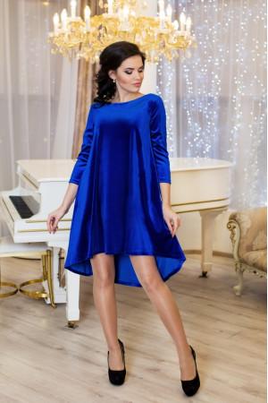 Сукня асиметрична яскраво-синя– купити в Києві 56d54d16fcc22