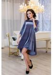Сукня «Скарлет» сірого кольору