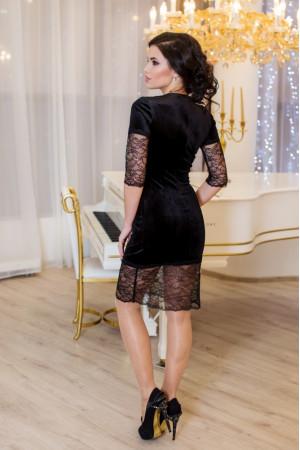 Платье «Вилма» черного цвета