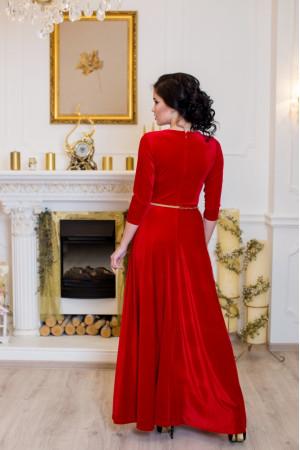 Платье «Лада» красного цвета