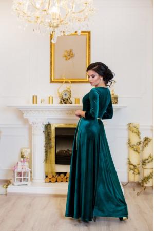Платье «Лада» зеленого цвета